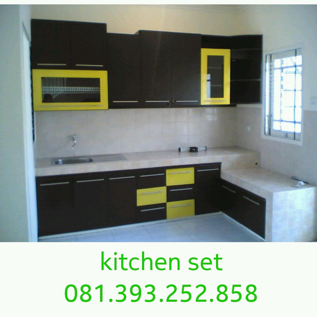 Jasa Pembuatan Kitchen Set Kayu Minimalis Mbarepjati Com