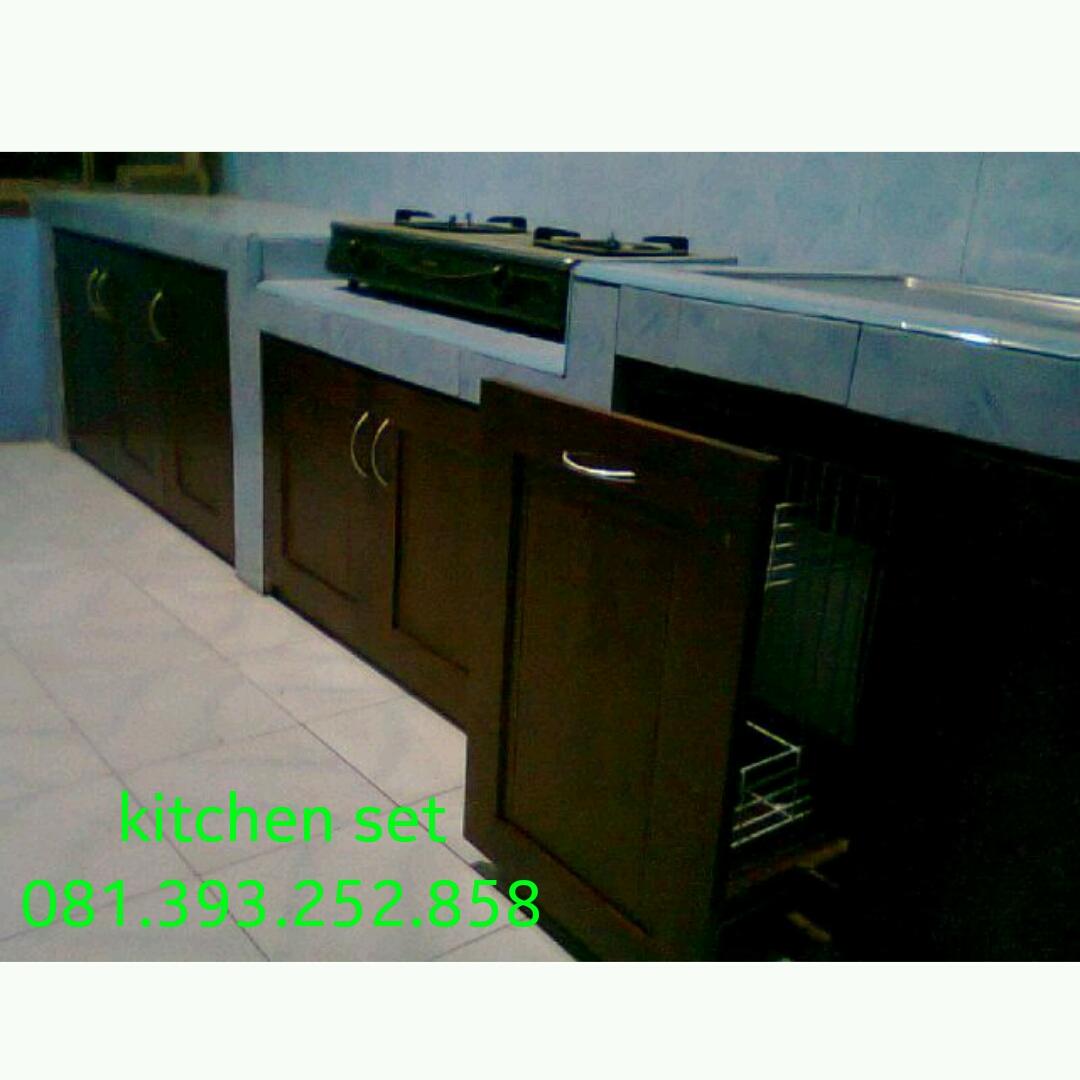 Tempat Pemesanan Kitchen Set Kayu Di Jogja