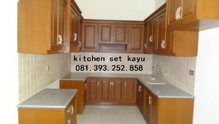 Tempat Pemesanan Kitchen Set Kayu Di Jogja Mbarepjati Com